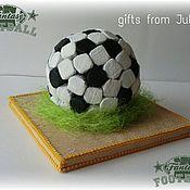 Букеты ручной работы. Ярмарка Мастеров - ручная работа Футбольный мяч из конфет ( композиции из конфет). Handmade.