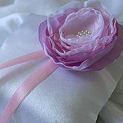Свадебный салон ручной работы. Ярмарка Мастеров - ручная работа Ombre - подушечка для колец. Handmade.