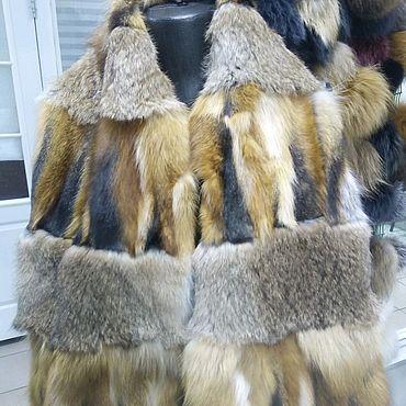Аксессуары ручной работы. Ярмарка Мастеров - ручная работа Красивый шарф из меха лисы и кролика. Handmade.