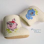 Обувь ручной работы handmade. Livemaster - original item Children`s boots