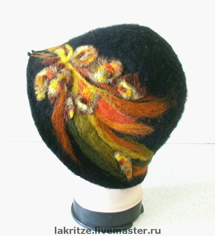 """шляпа """"Осеннее цветение"""""""