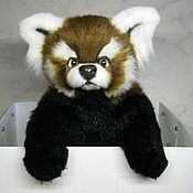Куклы и игрушки handmade. Livemaster - original item Baby red Panda Wei. Handmade.