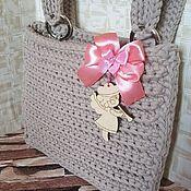 Элементы интерьера ручной работы. Ярмарка Мастеров - ручная работа Кармашек на кроватку. Handmade.