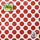 Декупаж и роспись ручной работы. Ярмарка Мастеров - ручная работа. Купить Красный горох (SDOG003501) - салфетка для декупажа. Handmade. Декупаж