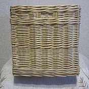 Для дома и интерьера handmade. Livemaster - original item Wicker basket for toys. Box for storage. Handmade.
