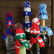 Подарки на 23 февраля ручной работы. Ярмарка Мастеров - ручная работа Подарки на 23 февраля: Одежда на бутылку, фанату. Handmade.