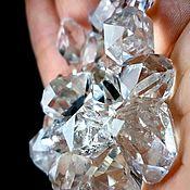 Материалы для творчества handmade. Livemaster - original item Quartz Herkimer (Ace of Diamonds Mine)Herkimer County, New York, USA. Handmade.
