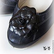 """Украшения ручной работы. Ярмарка Мастеров - ручная работа Брошь для обуви """"Глянец"""". Handmade."""