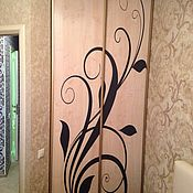 Для дома и интерьера ручной работы. Ярмарка Мастеров - ручная работа Двери купе Узор. Handmade.