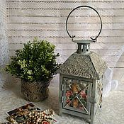 Для дома и интерьера handmade. Livemaster - original item lantern - candle holder