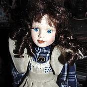 Для дома и интерьера ручной работы. Ярмарка Мастеров - ручная работа Фарфоровая кукла красавица. Handmade.