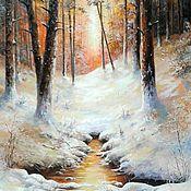 Картины и панно handmade. Livemaster - original item Oil painting Patagia Sianie Vladimir Chernov. Handmade.
