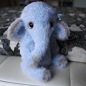 """Мягкие игрушки ручной работы. Ярмарка Мастеров - ручная работа Вязаный слоник """"Флай"""". Handmade."""