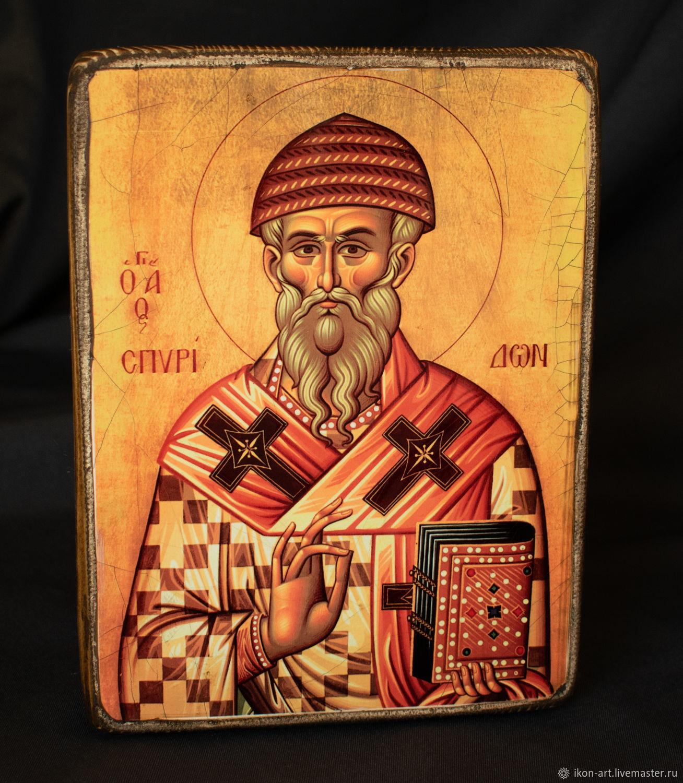 Wood icon of Saint Spyridon, Icons, Simferopol,  Фото №1