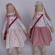 Куклы и игрушки ручной работы. Ярмарка Мастеров - ручная работа Зайки Мэри и Кристи. Handmade.