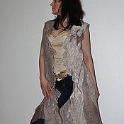 """Одежда ручной работы. Ярмарка Мастеров - ручная работа Жилет """"Shine pearl"""". Handmade."""