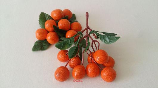 Материалы для флористики ручной работы. Ярмарка Мастеров - ручная работа. Купить Апельсины, 2 вида. Handmade. Фрукты, лимоны, цитрус