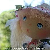 Куклы и игрушки ручной работы. Ярмарка Мастеров - ручная работа Лёлишка и бабочка. Handmade.