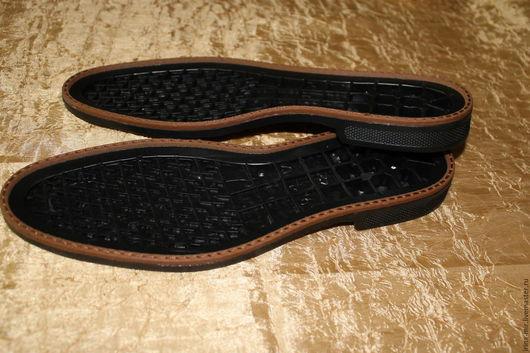Другие виды рукоделия ручной работы. Ярмарка Мастеров - ручная работа. Купить Подошва для  обуви мужская LORENZ c рантом. Handmade.