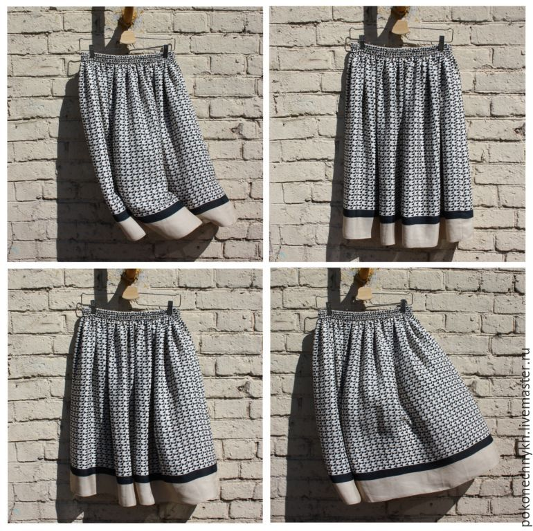 Летние легкие юбки доставка