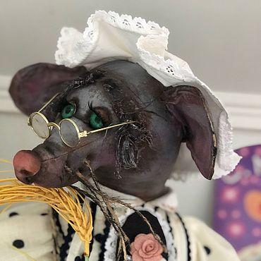Куклы и игрушки ручной работы. Ярмарка Мастеров - ручная работа Сказка о глупом Мышонке. Handmade.