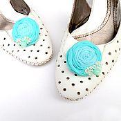 Украшения handmade. Livemaster - original item Hair clips, brooches, buckles for shoes