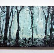 Картины и панно ручной работы. Ярмарка Мастеров - ручная работа Туман. Handmade.