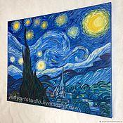 Картины и панно handmade. Livemaster - original item Copy of van Gogh`s painting