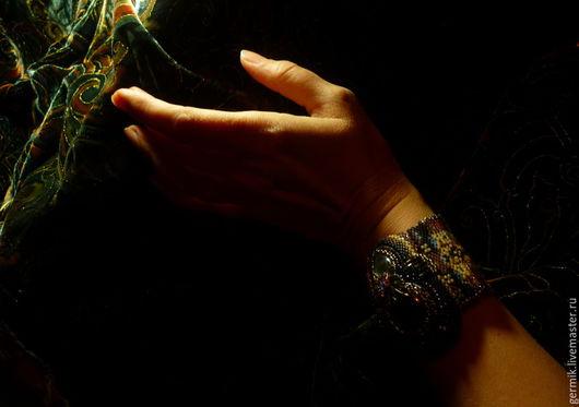 """Браслеты ручной работы. Ярмарка Мастеров - ручная работа. Купить Браслет """"Падишах"""".. Handmade. Комбинированный, тохо, восточный стиль"""