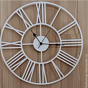 """Часы классические ручной работы. Ярмарка Мастеров - ручная работа Настенные часы 40см """"Rooma"""". Handmade."""