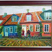 Картины и панно ручной работы. Ярмарка Мастеров - ручная работа ...И в город пришла весна. Handmade.