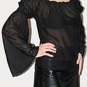 Одежда ручной работы. Ярмарка Мастеров - ручная работа Блузка под корсет. Handmade.