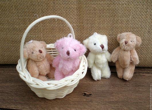 Куклы и игрушки ручной работы. Ярмарка Мастеров - ручная работа. Купить Мишки для куклы. 6 см.. Handmade. Комбинированный, мишки