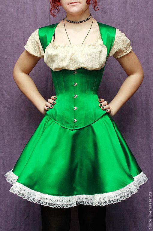 платье корсет с пышной юбкой доставка