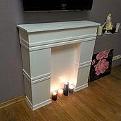 Для дома и интерьера handmade. Livemaster - original item False fireplace white