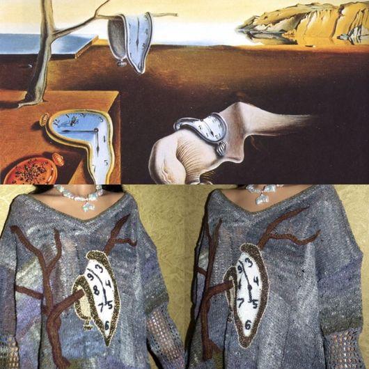 """Платья ручной работы. Ярмарка Мастеров - ручная работа. Купить Заказ.Платье -палантин """"Постоянство памяти""""- Норо. Handmade. Серый"""