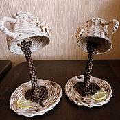 """Для дома и интерьера ручной работы. Ярмарка Мастеров - ручная работа Сувенир """"Чашка кофе"""". Handmade."""