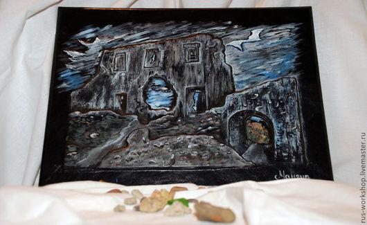 """Пейзаж ручной работы. Ярмарка Мастеров - ручная работа. Купить Картина """"Мангуп"""". Handmade. Картина, картина для интерьера, картины"""