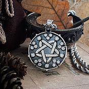 Украшения handmade. Livemaster - original item Yennefer The Witcher Medallion. Jennifer Witcher Pendant. silver Nickel silver. Handmade.
