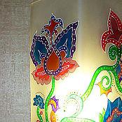 """Для дома и интерьера ручной работы. Ярмарка Мастеров - ручная работа Лампа""""Цветы"""". Handmade."""