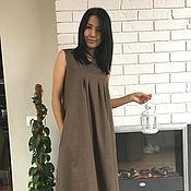 Одежда handmade. Livemaster - original item Dress-sundress made of wool, dress-sundress boho made of wool. Handmade.