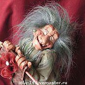 Куклы и игрушки ручной работы. Ярмарка Мастеров - ручная работа Яга, жертва гламура.. Handmade.