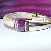 Украшения handmade. Livemaster - original item Bracelet Regaliz Drop Violet. Handmade.