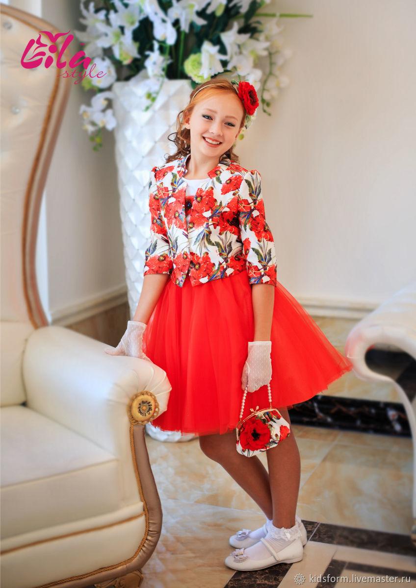 Нарядный комплект для девочки, Платья, Москва,  Фото №1