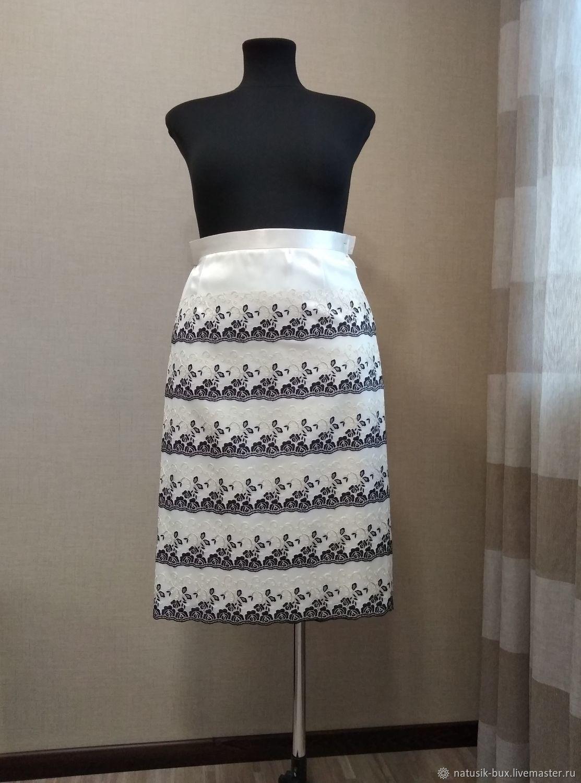 Роскошная юбка из кружева.(Франция), Юбки, Севастополь, Фото №1