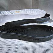 Материалы для валяния ручной работы. Ярмарка Мастеров - ручная работа Подошва для обуви URAGAN (кеды слипоны). Handmade.
