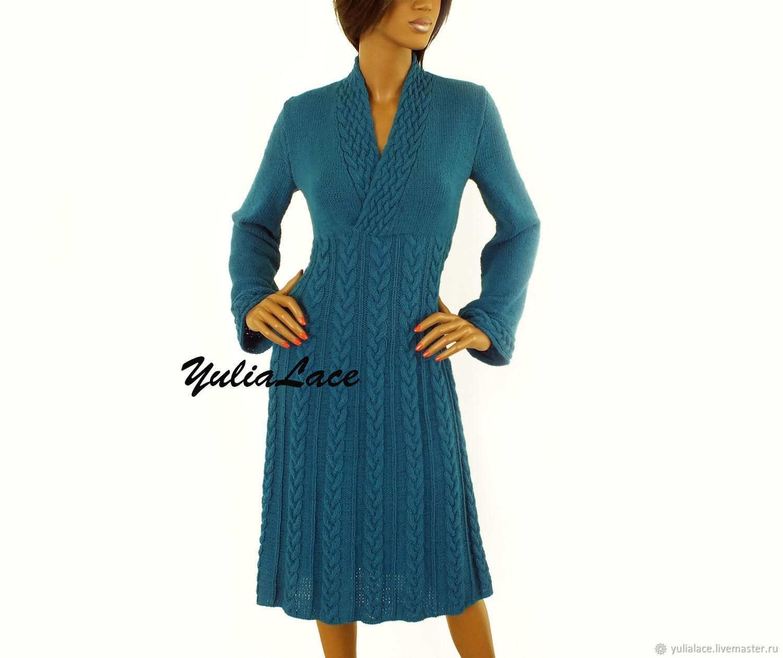 6cbf419aa2c Платья ручной работы. Ярмарка Мастеров - ручная работа. Купить Вязаное  платье. Handmade.
