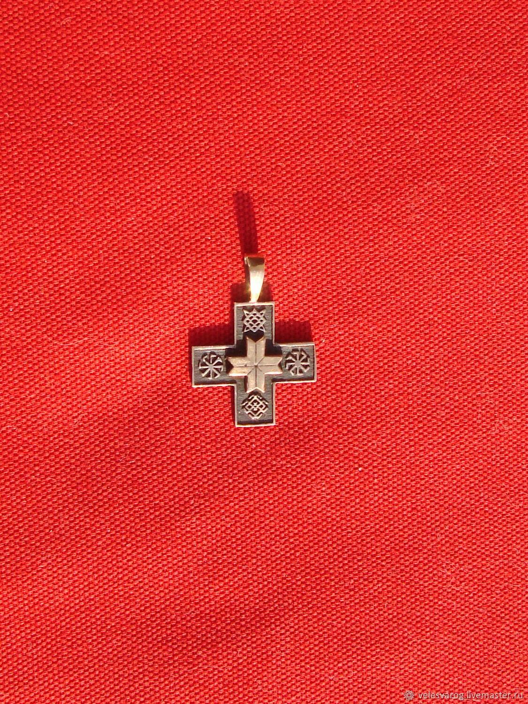 Славянский мужской крест, Статуэтки, Омск,  Фото №1