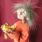 """Куклы и игрушки ручной работы. Ярмарка Мастеров - ручная работа Домовёнок  """"Янтарик"""". Handmade."""