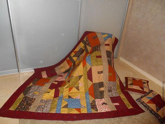 Текстиль, ковры ручной работы. Ярмарка Мастеров - ручная работа. Купить ДОМИКИ. Handmade. Лоскутное одеяло, лоскутное шитье, пэчворк